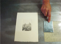 Engraving course in Florence, Italy